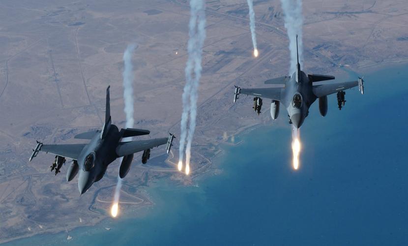 Американский истребитель F-16 разбился в Нью-Мексико