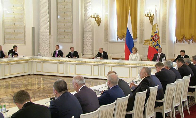 Главы Сахалина и Севастополя пополнили ряды Госсовета России
