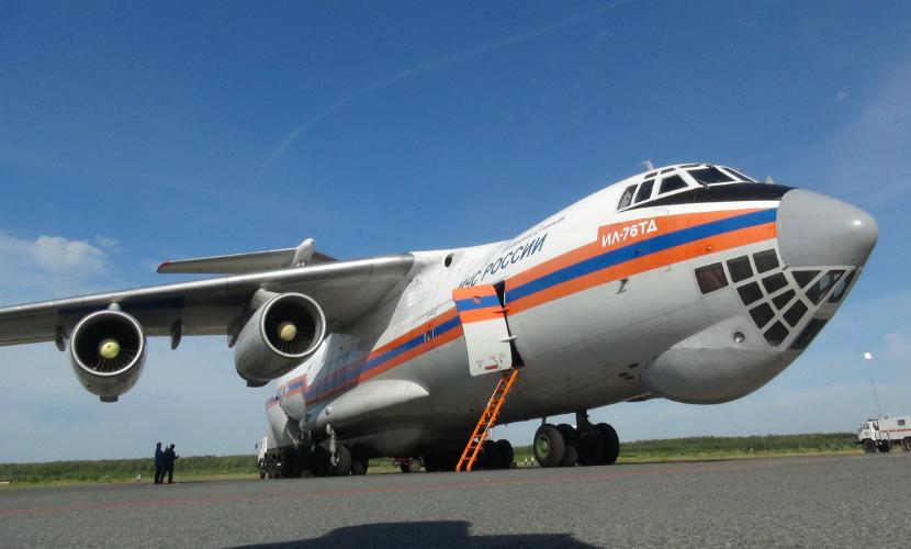 Борт МЧС с телами погибших при крушении А321 вылетел из Египта в Россию
