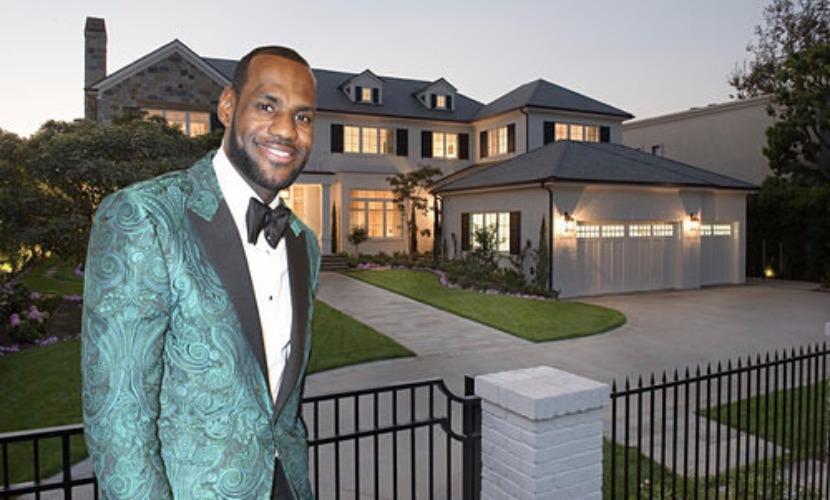Леброн Джеймс похвастался особняком в Калифорнии за 21 миллион долларов
