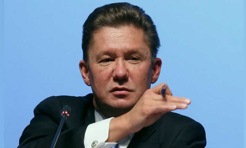 Россия перекроет поставки газа на Украину через два дня, - Миллер