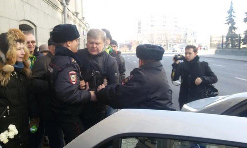 Полиция задержала лидера