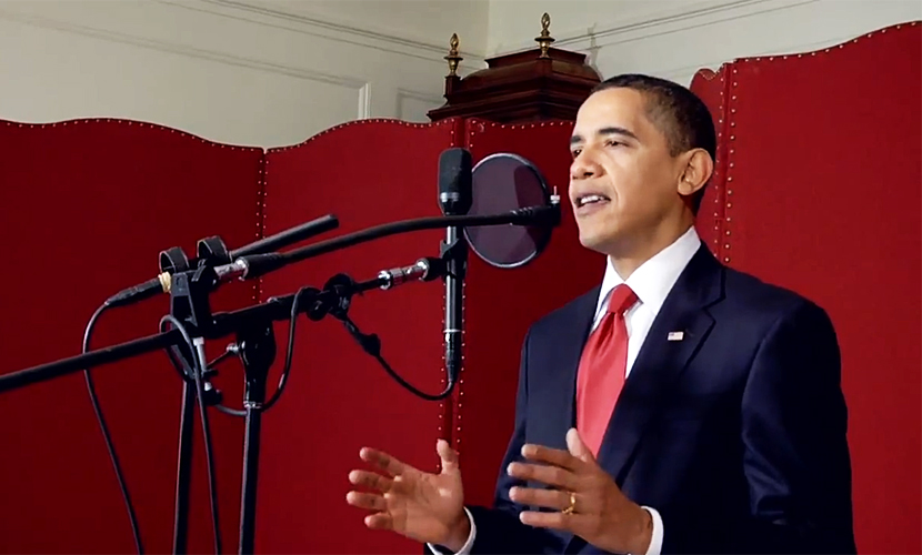Обама споет дуэтом с любимой группой Coldplay