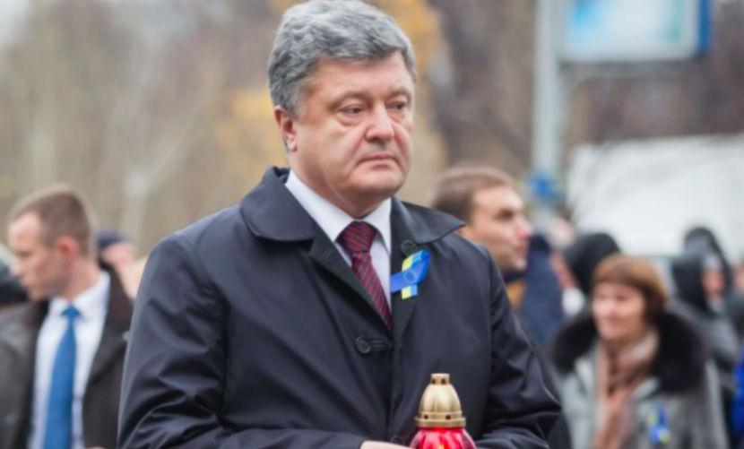 Украинцы потребовали привести на Майдан Порошенко