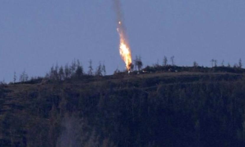 Сирийские повстанцы стреляли по спускавшимся на парашютах пилотам российского Су-24