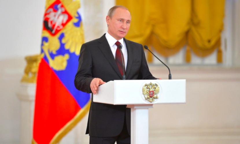 Россия займется развитием своего ударного военного потенциала, - Путин