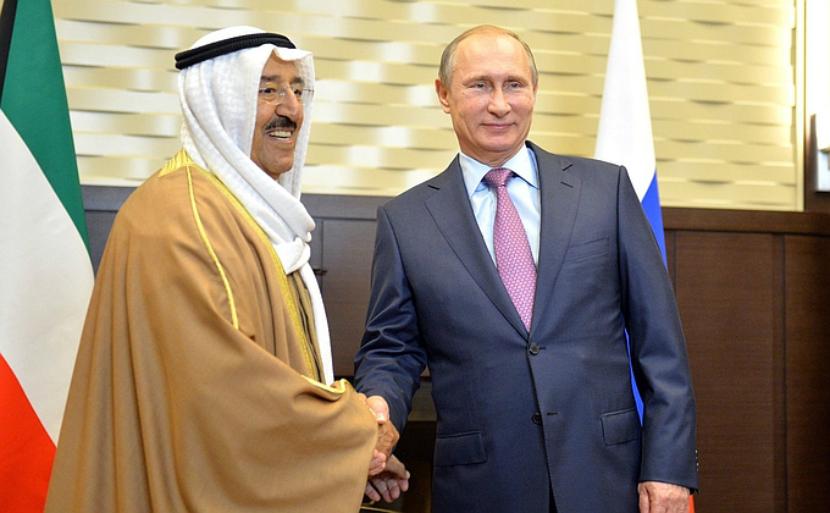 Эмир Кувейта похвалил Москву в разговоре с Путиным