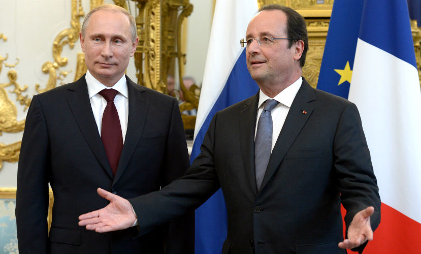 Олланд приедет к Путину 26 ноября сразу же после встречи с Обамой