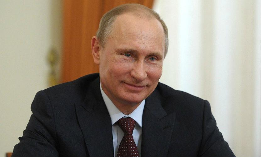Рейтинг популярности Путина находится на максимальной высоте