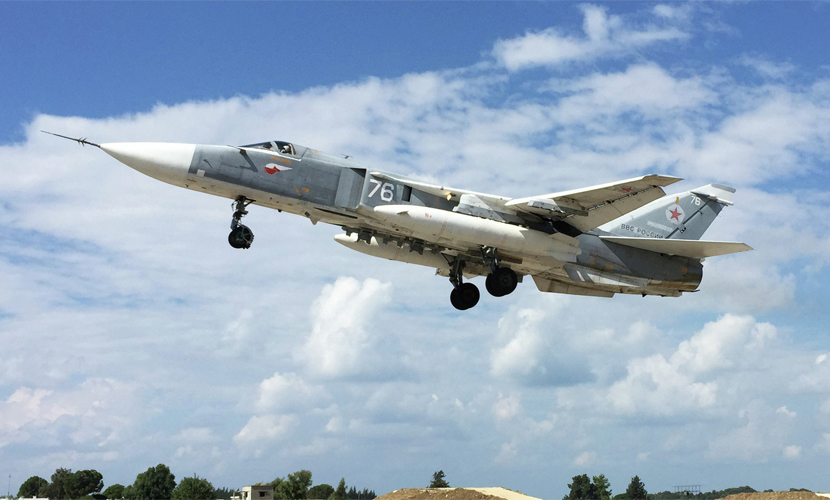 ВКС РФ и армия Сирии разбомбили турецкие укрепления в районе падения Су-24