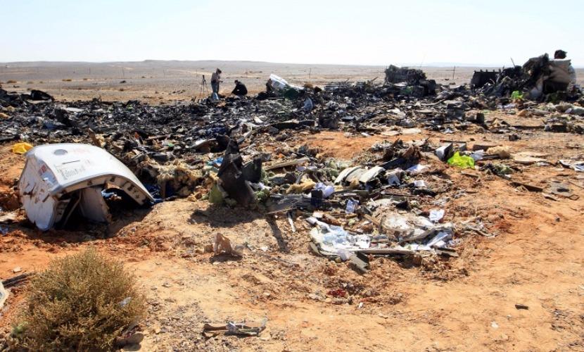 На месте крушения А321 обнаружили некие элементы не из конструкции авиалайнера