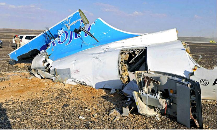 Аналитики США назвали главной причиной крушения Airbus A321 бомбу на борту