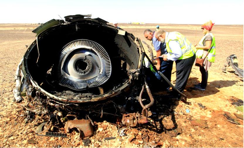 Пассажиры передней части А321 погибли от переломов и потери крови, а хвостовой части - от взрыва