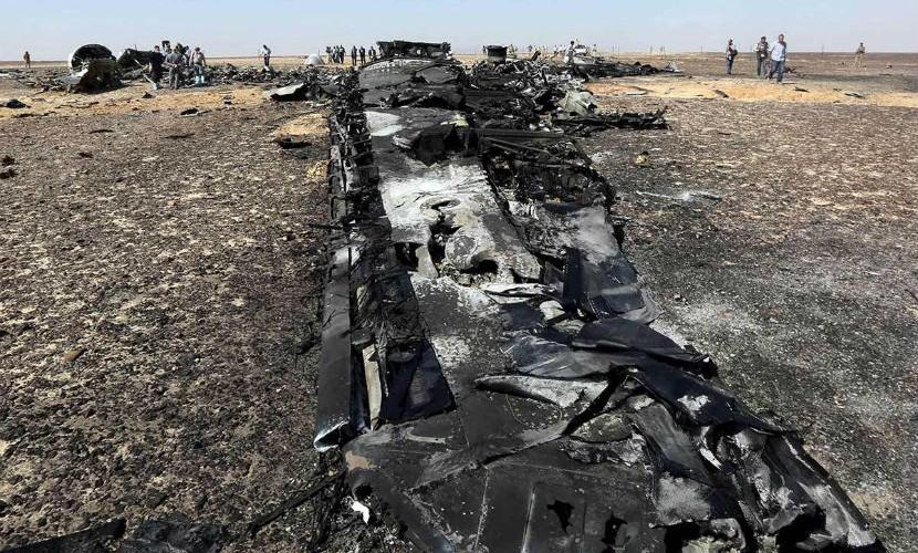 Власти Египта: все сводится ктому, что А321 разбился из-за технеполадки