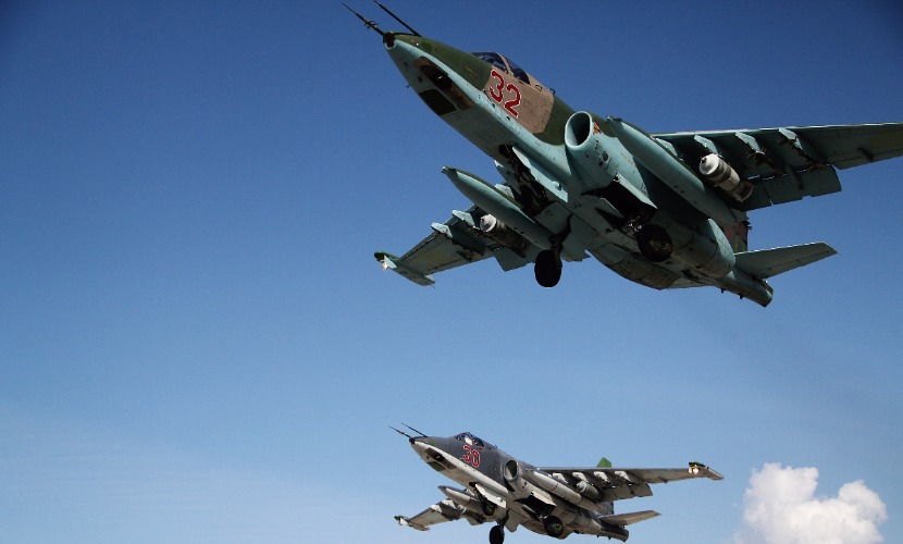 Российская авиация разбомбила в Сирии склад с противотанковыми ракетными комплексами