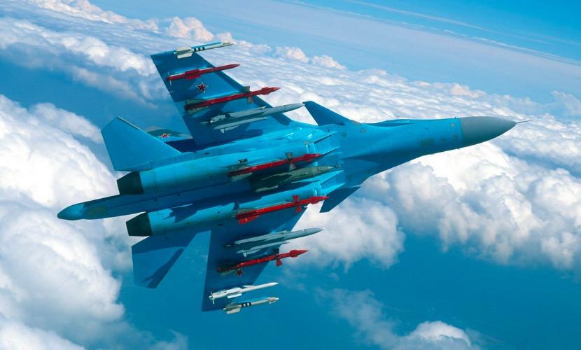 Российские Су-34 начали выполнять боевые задачи в Сирии с ракетами