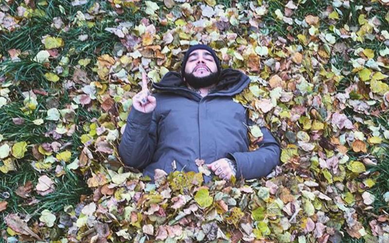 Тимати поддержал Кадырова и зарылся в листья