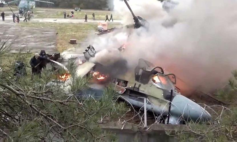 В Словакии разбился украинский вертолет - 6 погибших