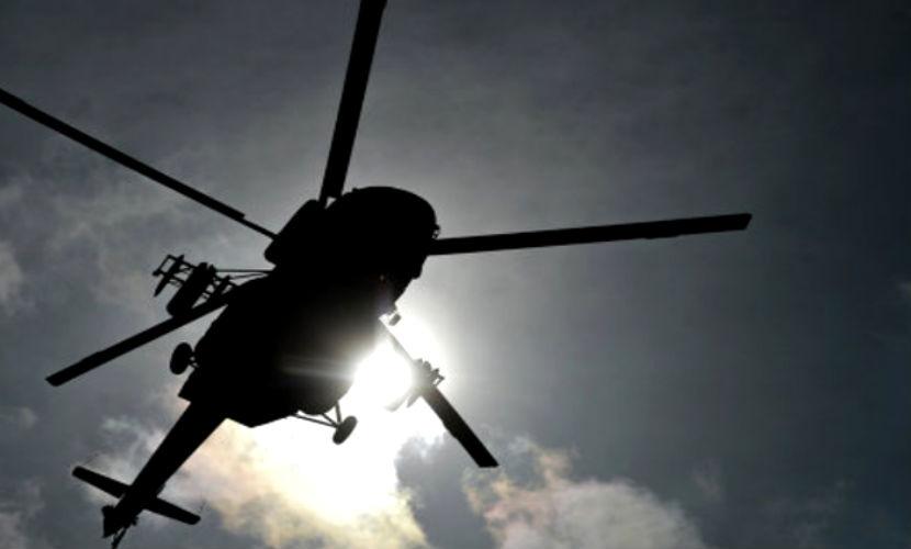 Летевшие в вертолете МВД люди получили тяжелые травмы
