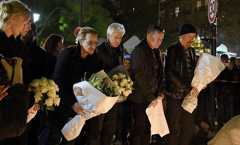 U2 отменили два концерта в Париже, а Мадонна прервала выступление в Стокгольме