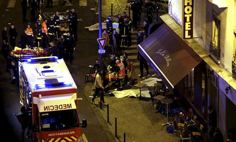 Среди террористов, устроивших бойню в Париже, была женщина