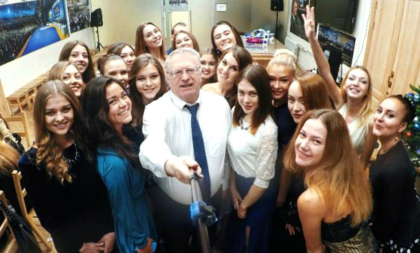 Жириновский рассказал о волшебном утре 1 января