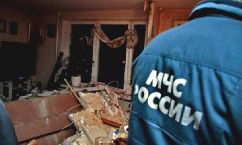 Семья пострадала при взрыве дома под Калининградом