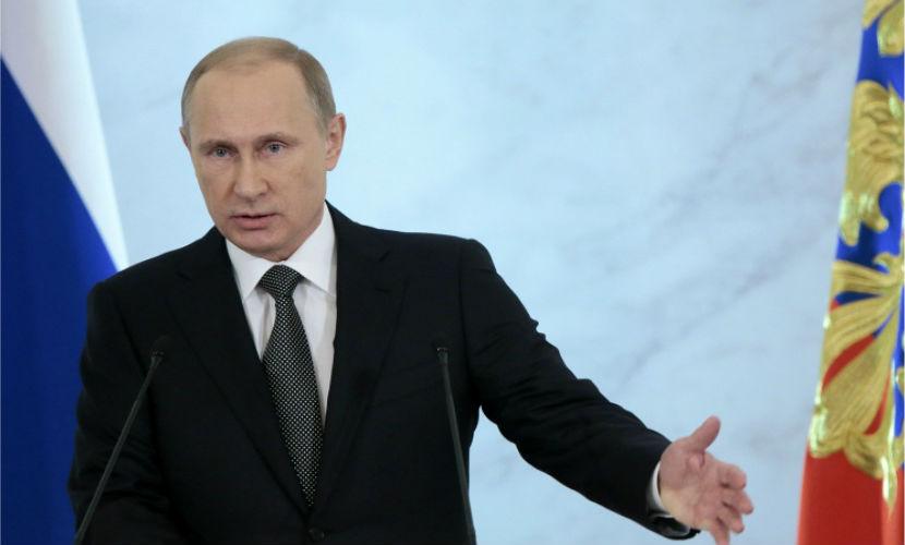 Владимир Путин заявил, что сила страны - в единстве, воинстве и семейственности