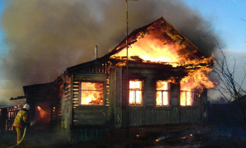 Двое детей сгорели на пожаре в Подмосковье