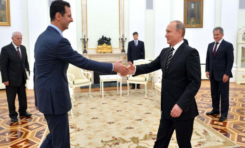 Британские СМИ написали о желании Путина отправить Асада в отставку