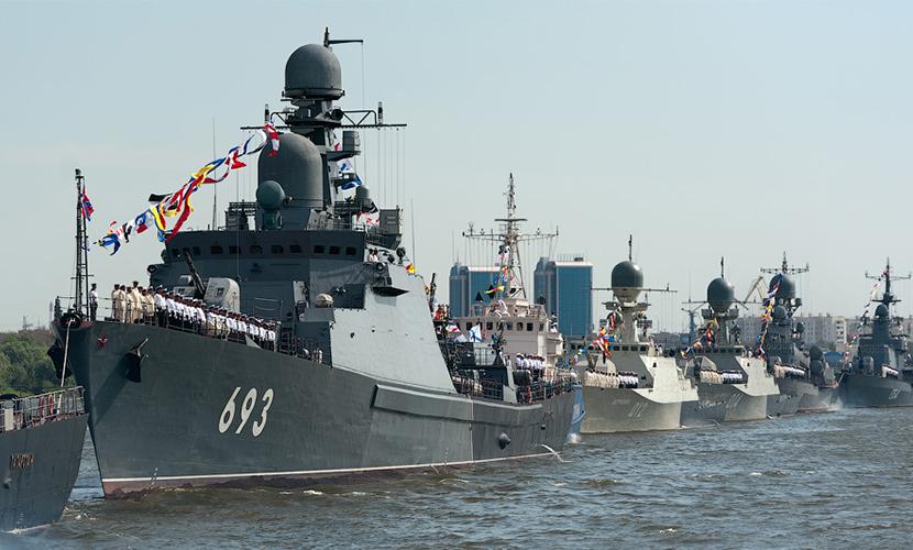 Пять десятков российских военных кораблей начали боевую подготовку