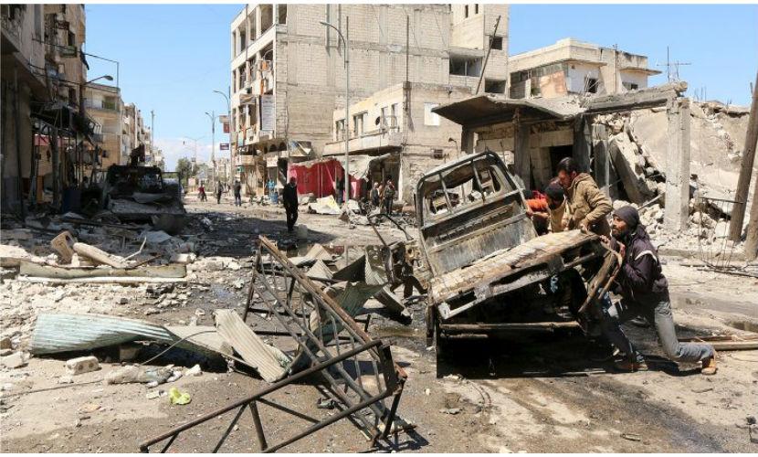 Коалиция США нанесла удар по армии Асада