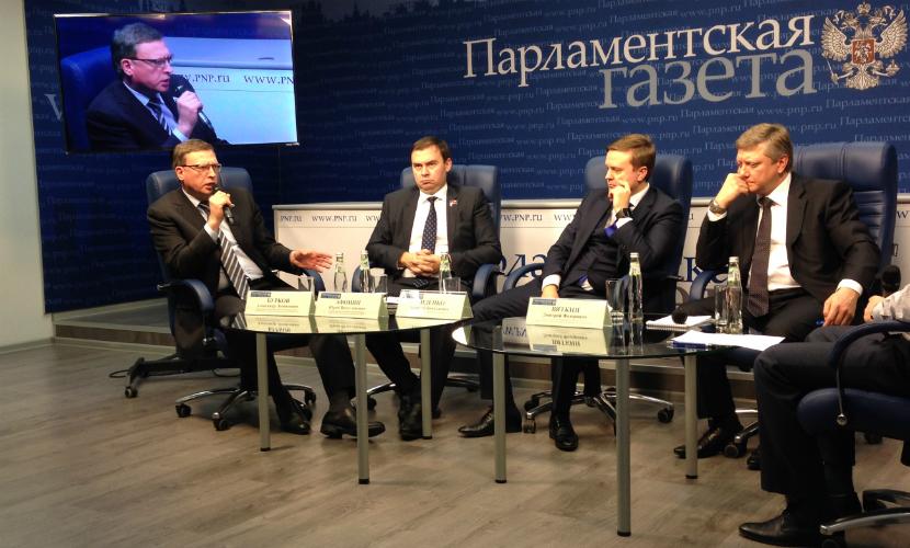 Путин в послании выступил против политической монополии одной партии, - Александр Бурков