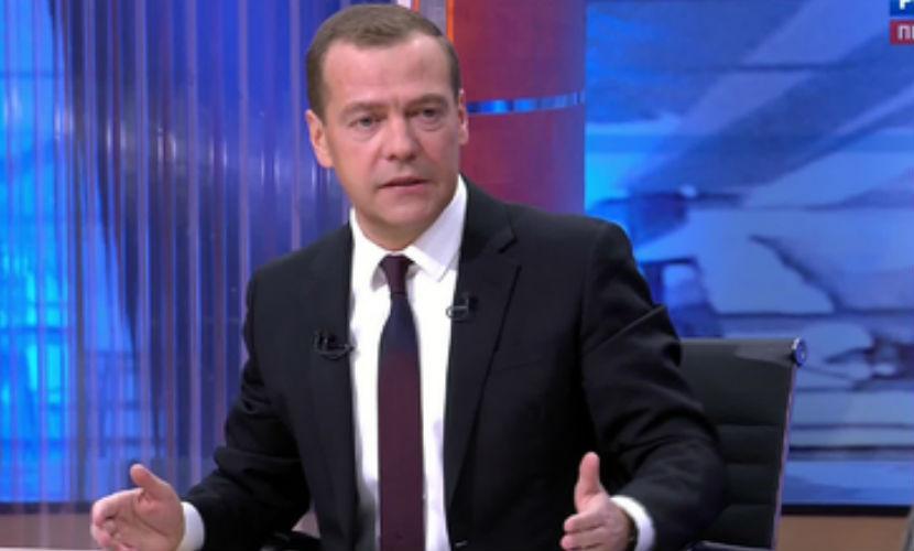 Медведев похвалил антикризисный план