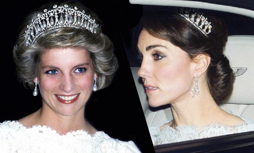 Кейт Миддлтон растрогала британцев, впервые надев тиару принцессы Дианы