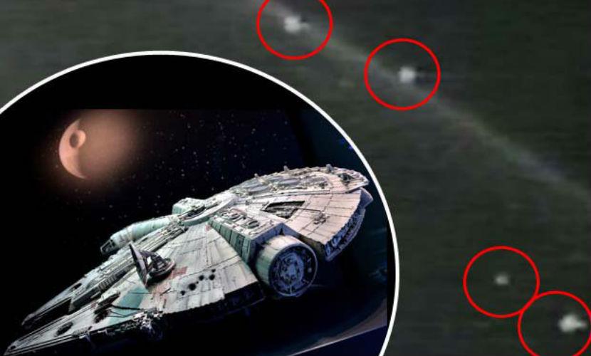 Опубликовано видео доказательства существования НЛО