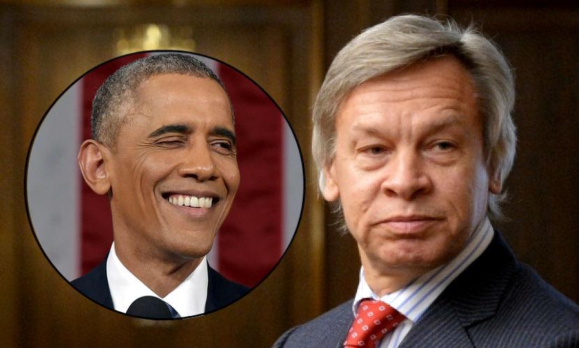 Пушков осудил Обаму за непомерные амбиции