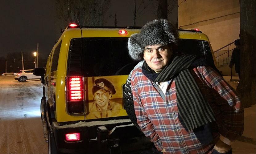 Садальского в Уфе сразил автомобиль с