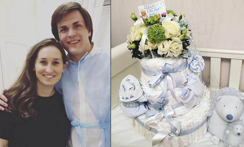 Винокур и ее муж - продюсер Григорий Матвеевичев не устают благодарить друзей за подарки сыну