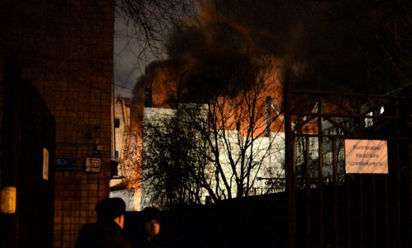Крупнейший за последние десятилетия пожар в Москве локализован
