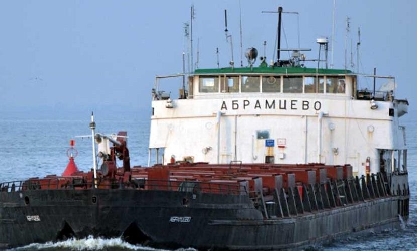 В акватории Азовского моря потерпело крушение судно «Абрамцево», погиб капитан