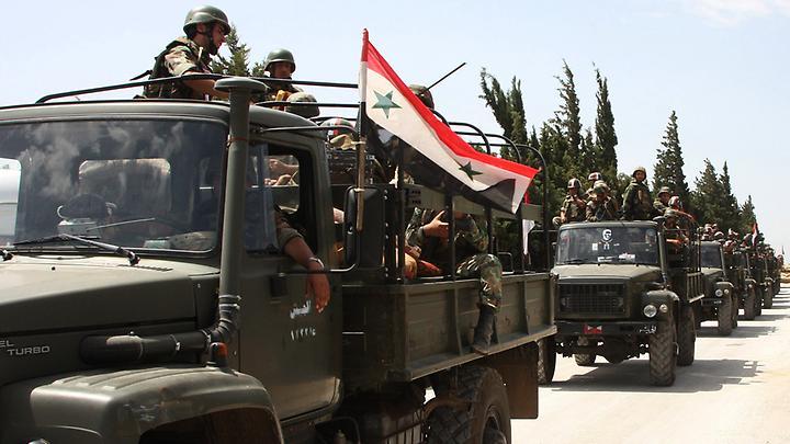 Армия Асада взяла под контроль ключевой аэродром под Дамаском