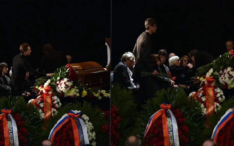 Сергей Безруков расплакался на прощании с