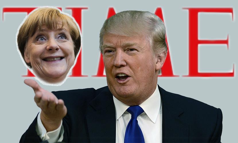 Трамп обиделся на Time за признание Меркель