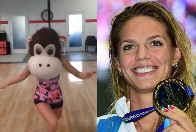 Знаменитая российская спортсменка насмешила фанатов превращением в огромную обезьяну