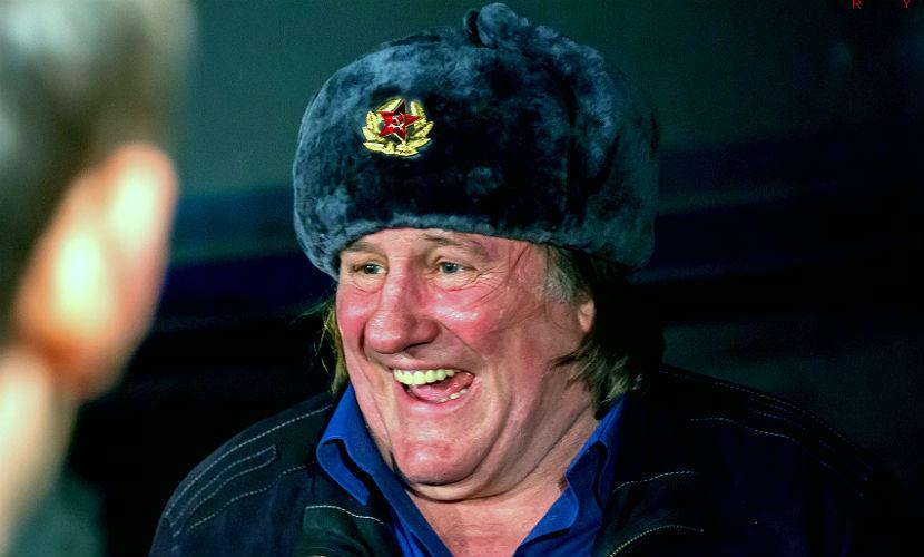 Депардье выбрали на роль Иосифа Сталина