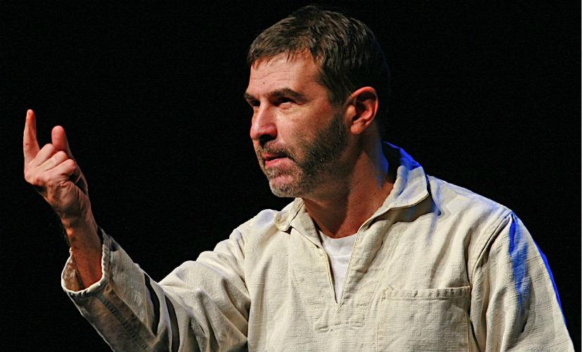 Евгений Гришковец пришел в шок от концепции «МегаГриННа» в Орле