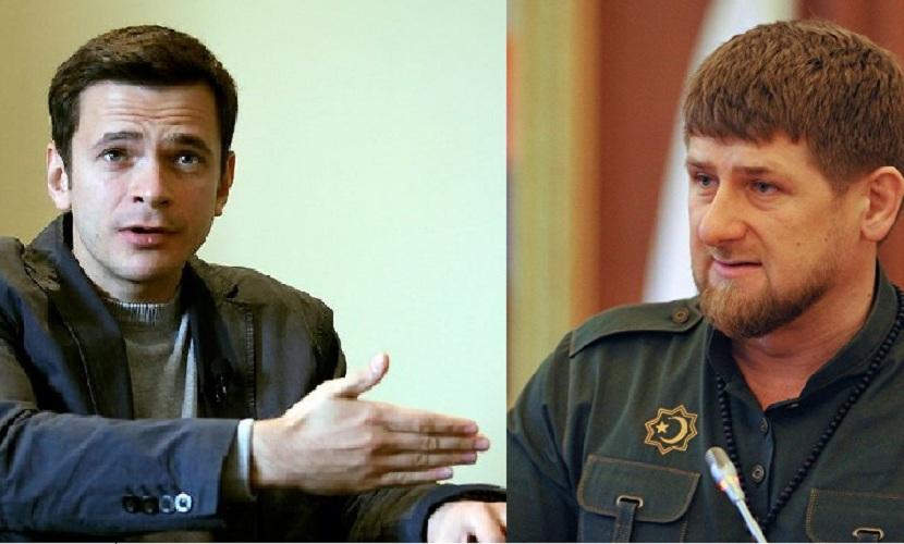 Яшин заявил о желании встретиться с Кадыровым и задать ему