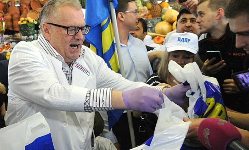 ЛДПР зарабатывала деньги на продаже экскурсий в Госдуму