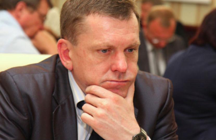 Владимир Левандовский возглавлял министерство финансов с 2014 года.